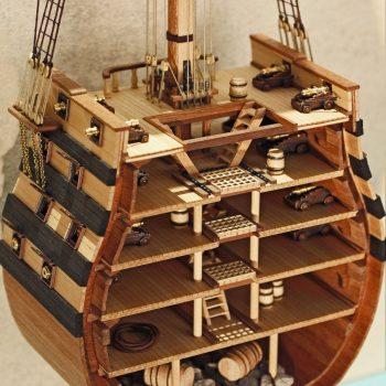 Интерьерные решения - макет корабля