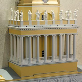 Интерьерные решения - макет Адмиралтейства