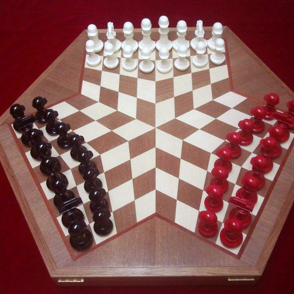 """Шахматы """"Строитель"""" на троих"""