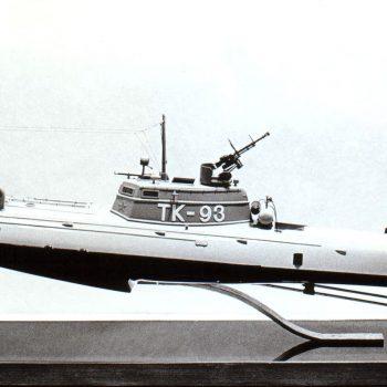 Макет тарпедного катера Г-5