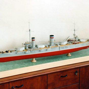 Макет линкора Гангут