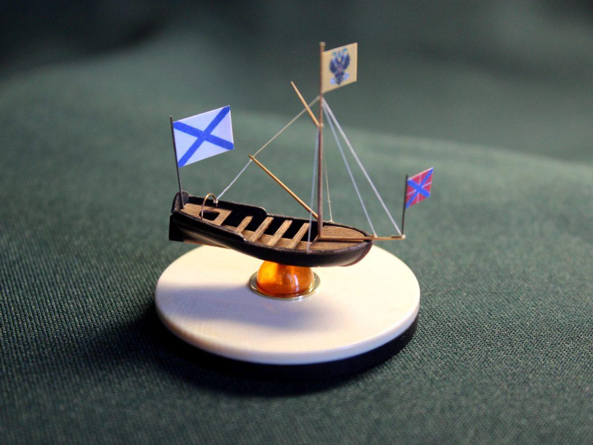 Эксклюзивный сувенир изготовленный ремесленной мастерской Макетбург