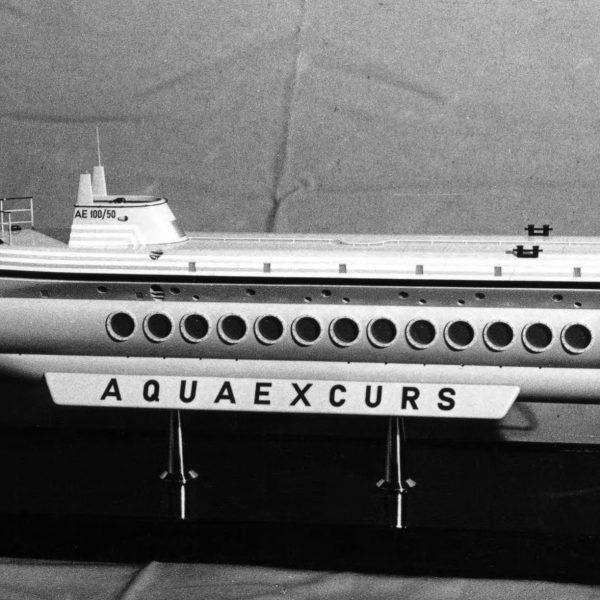 Подводный экскурсионный корабль Aquaexcurs
