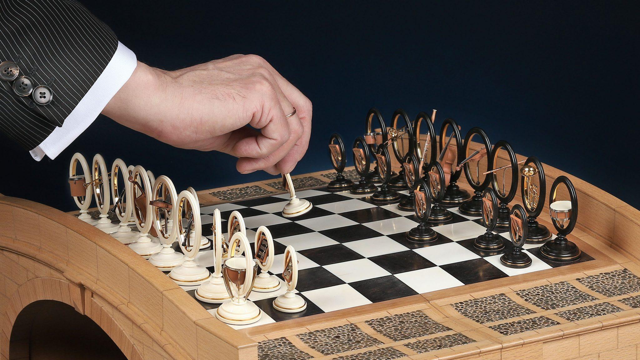 Коллекционные шахматы Оркестр